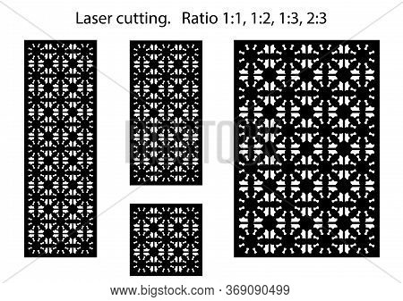 Shade Screen, Privacy Fence Template. Laser Cut Vector Panel, Screen, Fence, Divider. Cnc Decorative