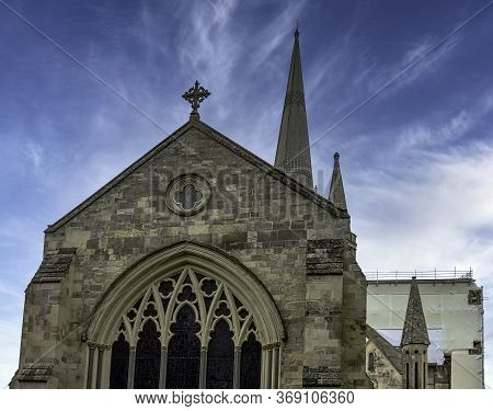 Chichester, West Sussex, Uk - July 14: Chichester Cathedral, Formally Known As The Cathedral Church