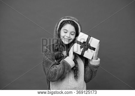 Spring Holidays. Girl In Bunny Pajamas. Child In Rabbit Kigurumi. Happy Girl In Cute Pajamas. Lifest