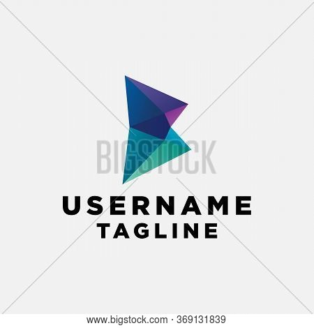 B Initial Photography Logo Template Design, Design