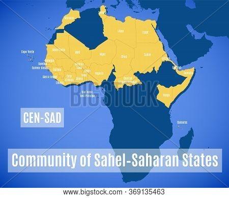 Member States Of The The Community Of Sahel-saharan States (cen-sad).
