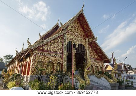 Thailand Chiang Rai Wat Jet Yot