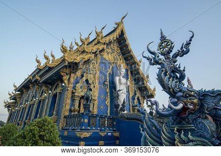 Thailand Chiang Rai Blue Temple