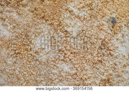 Nature Background Of Cracked Dry Lands. Natural Texture Of Soil With Cracks. Broken Clay Surface Of