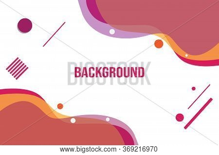 Orange Flow Shape Background Of Gradient Smooth Background Texture On Elegant Rich Luxury Background