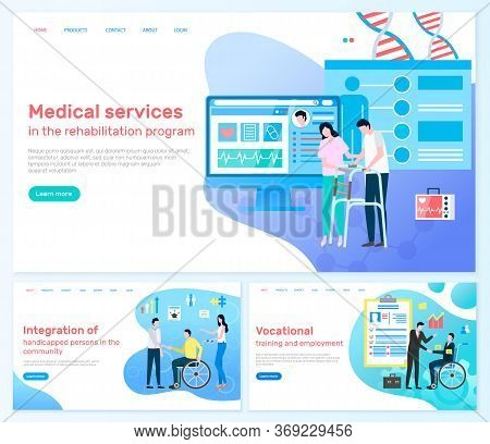 Website Of Program That Integrate Handicap People To Community. Medical Services And Vocational Trai