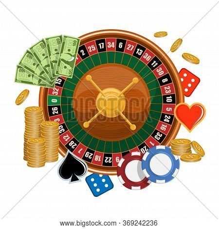 European Roulette. Logo For Roulette Gamble. Red & Black Betting Casino Squares. Casino Gambling. Ga