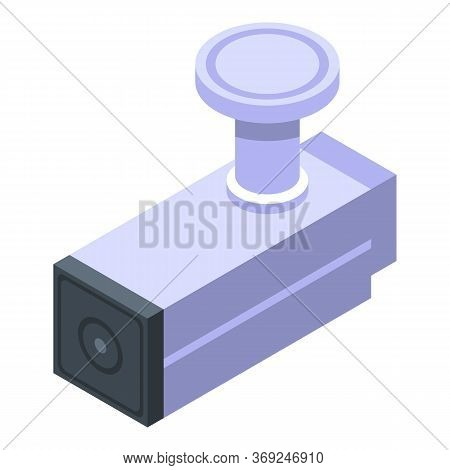 Prison Cell Tool Icon. Isometric Of Prison Cell Tool Vector Icon For Web Design Isolated On White Ba