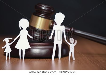Legal Area Children. Court And The Rights Of The Family And Children. Section Of Children During A D