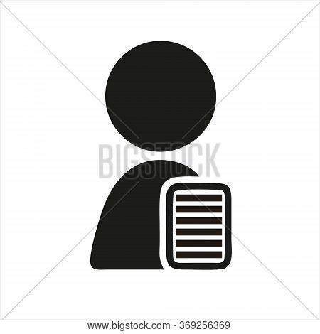 Documents Icon Isolated On White Background. Documents Icon In Trendy Design Style. Documents Vector
