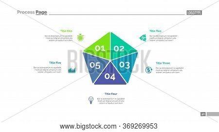 Pentagon Diagram. Business Data. Step Diagram, Option Chart, Layout. Creative Concept For Infographi