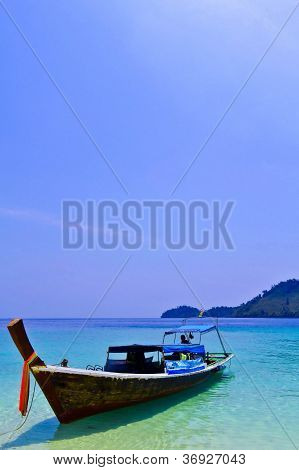 Boat On The Sea Thailand