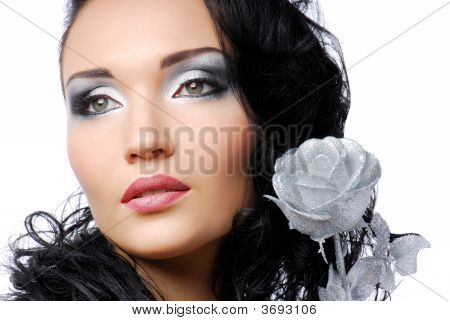 Beautiful Woma Face