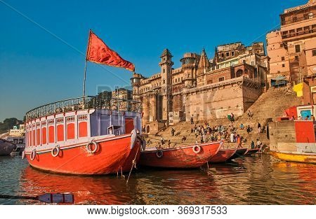 Varanasi Is A City In The Northern Indian State Of Uttar Pradesh Dating To The 11th Century B.c. Reg