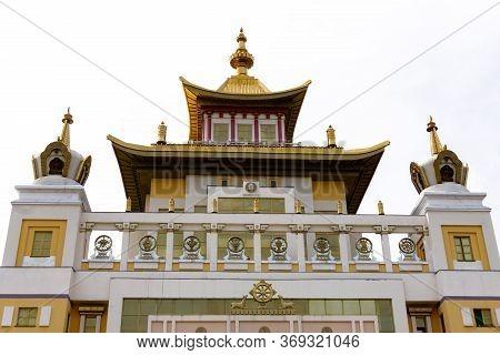 Khurul Burkhan Bakshin Altan Sume In Elista.
