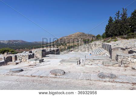 Ancient palace of Phaestos at Crete