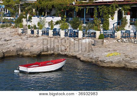 Aegina island in Greece