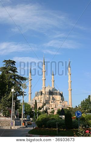 EDIRNE,TURKEY- JUNE 22: Selimiye Mosque in center of Edirne city ,Turkey