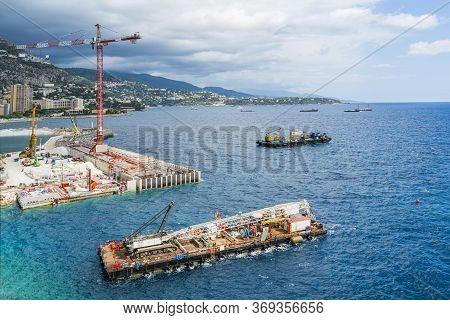 Monaco's Expansion Into The Mediterranean Sea, Panorama