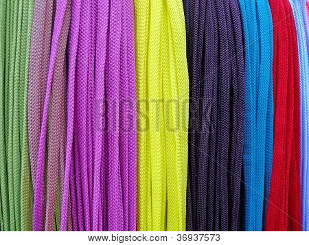 Many-coloured Shoestrings