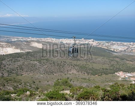 Opened In 2003 The Benalmadena Cable Car Is One Of The Main Tourist Attraction On The Costa Del Sol.