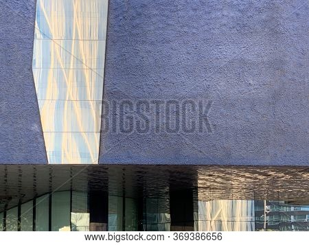 The Natural Science Museum Of Barcelona Called Museu Blau, Museo Nat De Barcelona, Modern Architectu