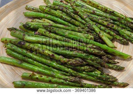 ecological, bio, organic vegetarian asparagus