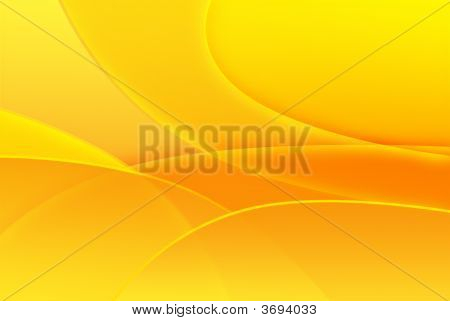 Yellow Abstract Illustration