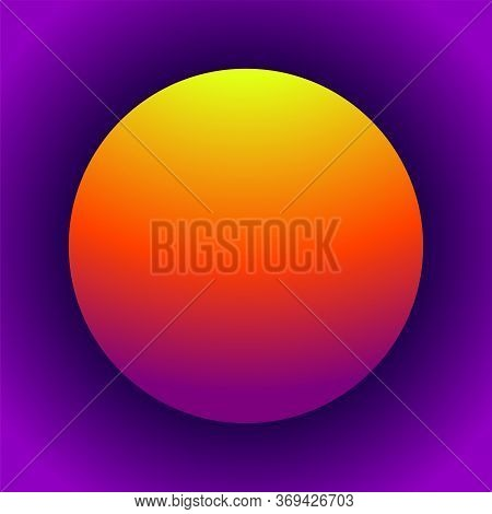 Abstract Gradients Sphere. Colorful Ball For Your Design. Vector Illustration