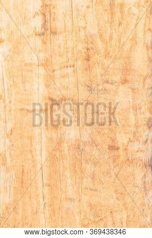 Old Wood Texture For The Background, Wood Texture With Natural Pattern, Top-down Of Old Dry Wood.