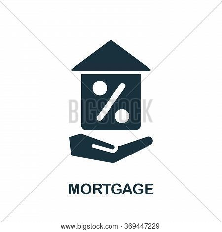 Mortgage Icon. Simple Element From Banking Collection. Creative Mortgage Icon For Web Design, Templa