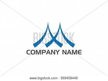 Initial Square Letter M Logo Design Business Vector Template. Creative Letter M Logo Vector. M Lette