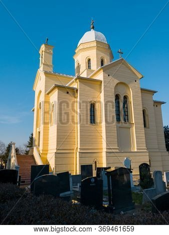 Belgrade / Serbia - February 9, 2020: Small Saint Dimitri Church (crkva Svetog Dimitrija) Is An Serb