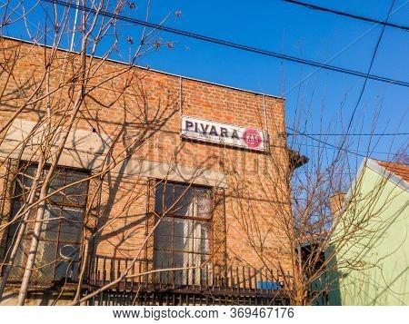 Belgrade / Serbia - February 9, 2020: KaŠ Balkan Brewtopia Is A Craft Brewery And Beer KaŠ In Zemun,