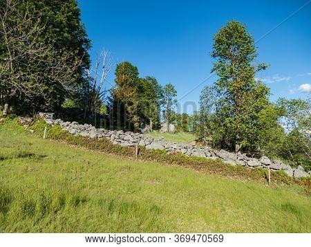 Natural Landscape In Sumava National Park I Czechia