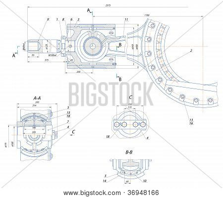 Crosshead Displacement Pump Mechanism