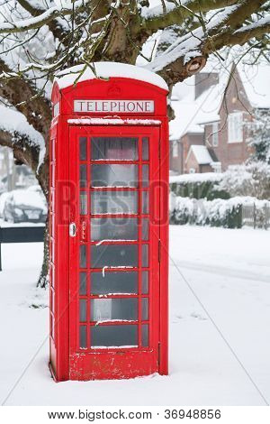 Telephone Box In Uk