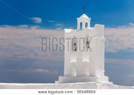 Belfry From A Chapel On The Island Of Sifnos
