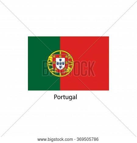 Vector Portugal Flag, Portugal Flag Illustration, Portugal Flag Picture