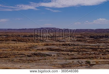 Mountains And Stone Desert In South Africa National Park