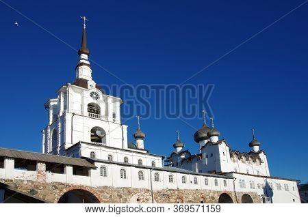 Solovki, Republic Of Karelia, Russia - August, 2017: Solovki Monastery At Summer Day