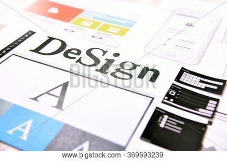 Design Concept.creative Concept For Website And Mobile Banner, Internet Marketing, Social Media And