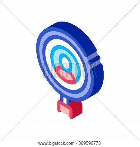 Inspection Of Voter Icon Vector. Isometric Inspection Of Voter Sign. Color Isolated Symbol Illustrat