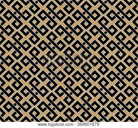 Greek Motives Texture. Greek Key Seamless Texture