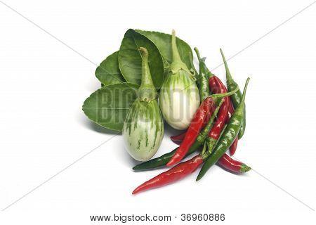 vegetables and ingredient