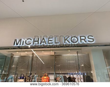 Orlando,fl/usa-2/17/20: The Michael Kors  Storefront At The Millenia Mall In Orlando, Florida.