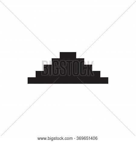Stairs Icon Isolated On White Background. Stairs Icon In Trendy Design Style For Web Site And Mobile