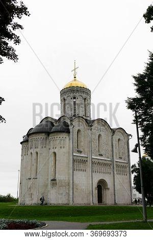 The Cathedral Of Saint Demetrius In Vladimir.