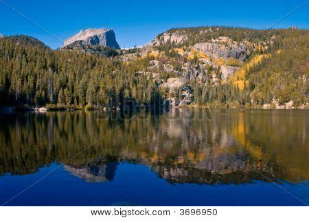 Bear Lake Autumn Reflection