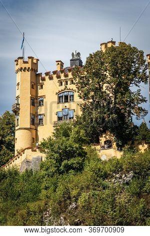 Hohenschwangau Castle (schloss Hohenschwangau - Upper Swan County Palace Xix Century), Schwangau Vil